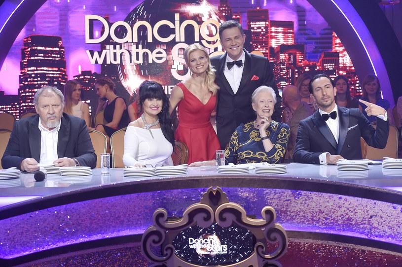 """Jurorzy i gospodarze programu """"Dancing with the Stars. Taniec z gwiazdami"""" /AKPA"""
