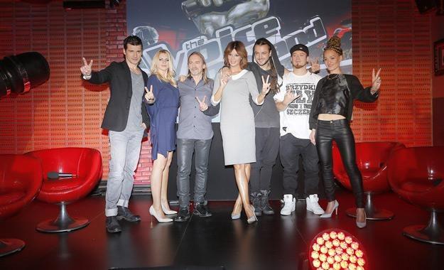 """Jurorzy i prowadzący talent show """"The Voice Of Poland"""" /AKPA"""