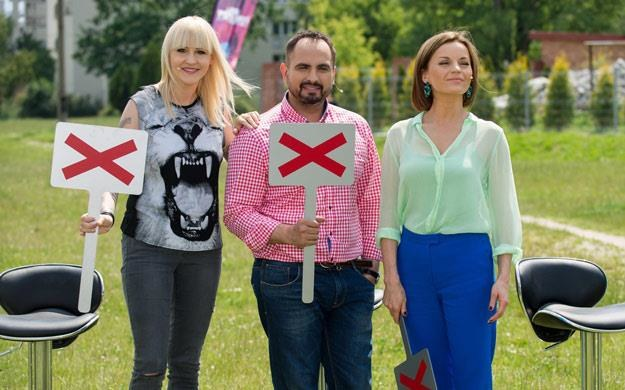 """Jurorzy """"Mam talent"""" mieli twardy orzech do zgryzienia (fot. Bartosz Krupa) /East News"""