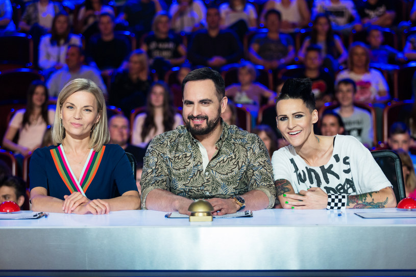 "Jurorzy ""Mam talent!"" /Mirosław Sosnowski /TVN"