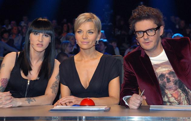 """Jurorzy programu """"Mam talent"""", fot.Marek Ulatowski  /MWMedia"""