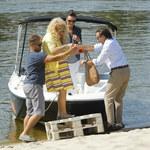 """Jurorzy programu """"MasterChef"""" pływają na łódce! Magda Gessler miała małe problemy..."""