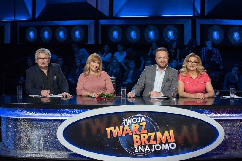 Jurorzy show - Paweł Królikowski, Katarzyna Skrzynecka, Bartek Kasprzykowski i Małgorzata Walewska /M. Zawada /Polsat