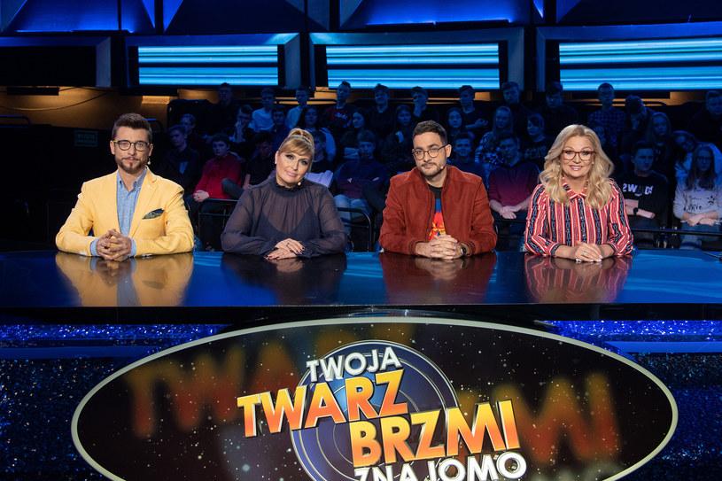 """Jurorzy """"Twoja Twarz brzmi znajomo"""" /M. Zawada /Polsat"""