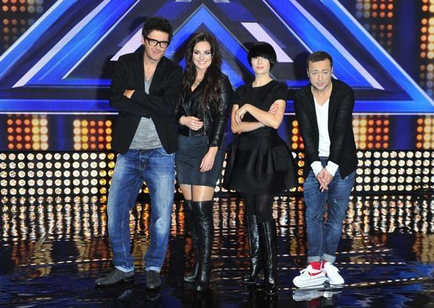 """Jury czwartej edycji """"X Factor"""" /MWMedia"""