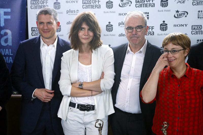 """Jury, któremu przewodniczył Wentworth, doceniło film Małgorzaty Szumowskiej """"Body"""". /Podlewski /AKPA"""