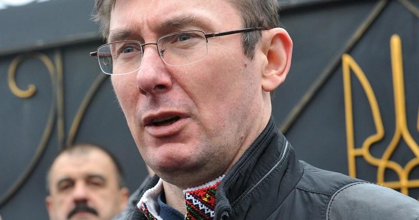 Jury Łucenko, doradca pełniącego obowiązki prezydenta Ukrainy /AFP