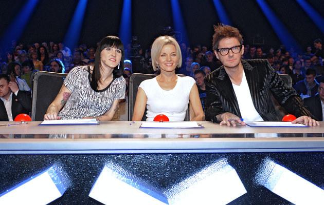 """Jury """"Mam talent"""", fot. Andras Szilagyi  /MWMedia"""
