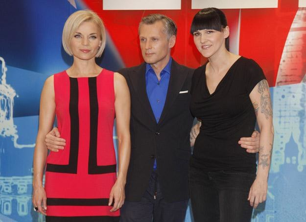 """Jury """"Mam talent"""": Gosia Foremniak, Robert Kozyra i Agnieszka Chylińska /AKPA"""