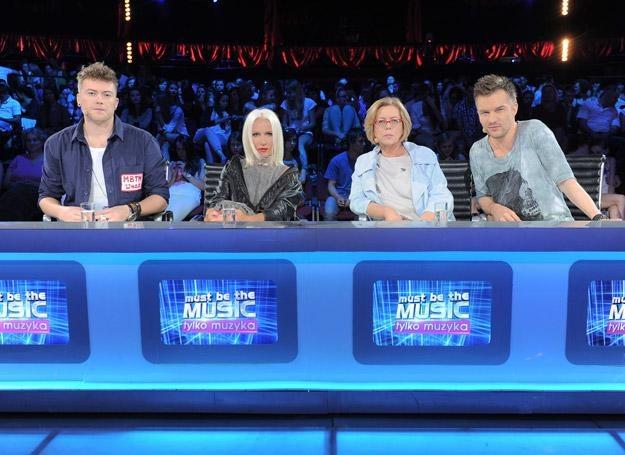 """Jury """"Must Be The Music"""" ma kolejnych kandydatów do półfinałów /fot. Polsat/Studio 69"""