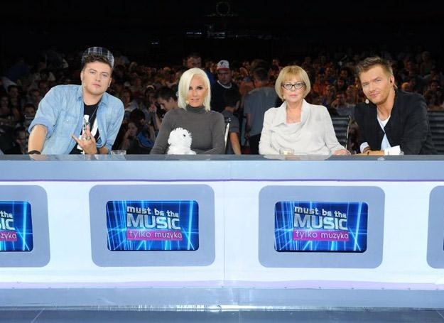 "Jury ""Must Be The Music. Tylko muzyka"" w komplecie /Polsat"