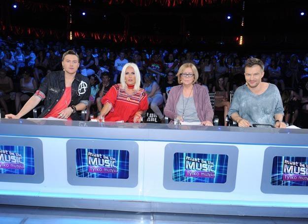 """Jury """"Must Be The Music"""" w komplecie /fot. Polsat/Studio 69"""