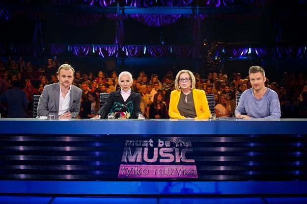 "Jury ""Must Be The Music"" w komplecie /Polsat"