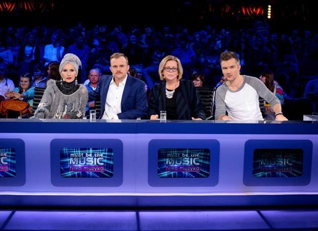 "Jury siódmej edycji ""Must Be The Music"" w komplecie /Polsat"
