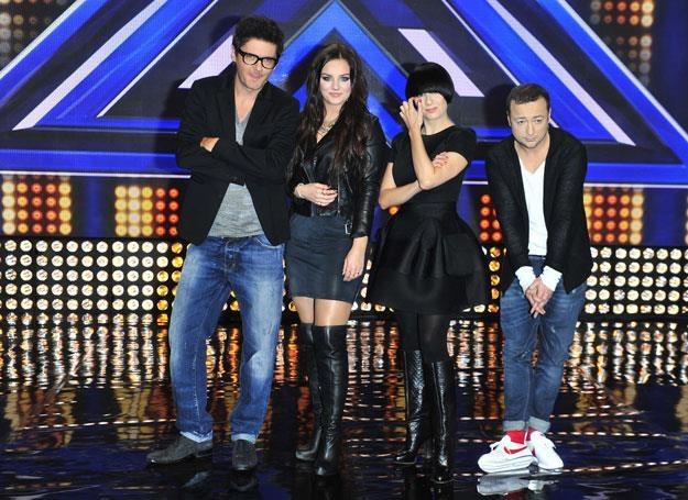 """Jury """"X Factor"""" w komplecie /MWMedia"""