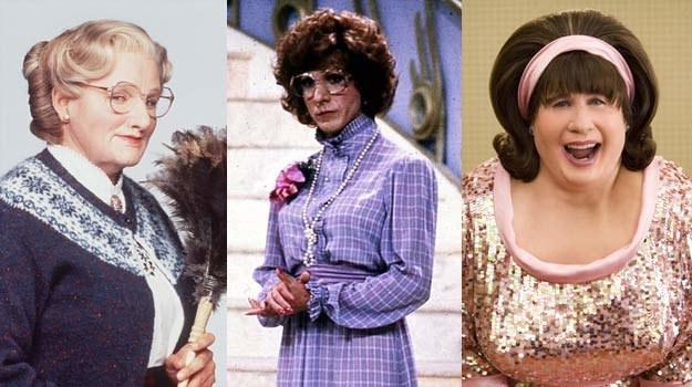 Just like the Woman: Robin Williams, Dustin Hoffman, John Travolta /East News