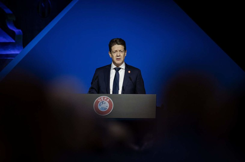 Just Spee, przewodniczący KNBV /AFP