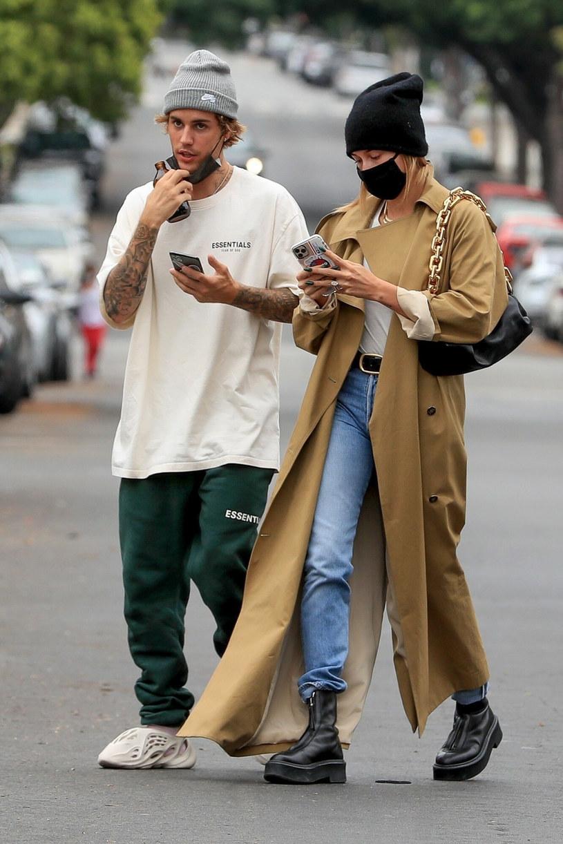 Justin Bieber, Hailey Bieber /GUMU, GICE/Backgrid /East News