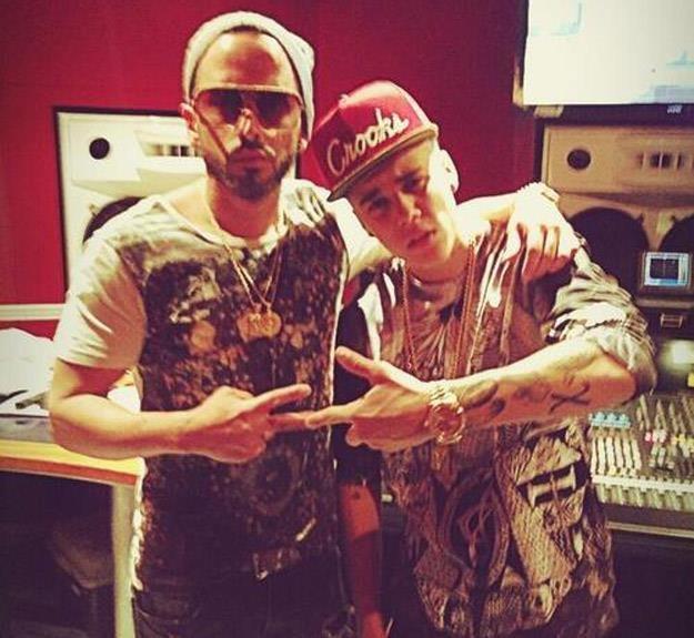 Justin Bieber i jego przyjaciel w ciuchach od Honey /