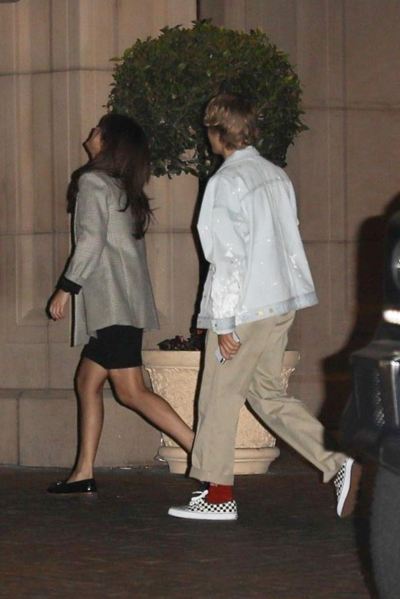 Justin Bieber i Selena Goimez /Agencja FORUM
