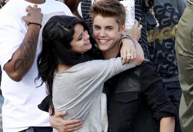 Justin Bieber i Selena Gomez /Bruja/Rachid Ait, PacificCoastNews.com /East News
