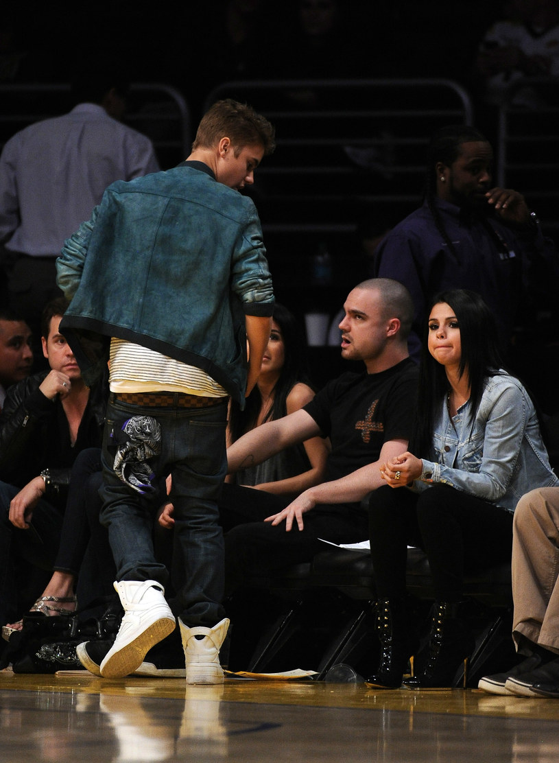 Justin Bieber i Selena Gomez /Harry How /Getty Images