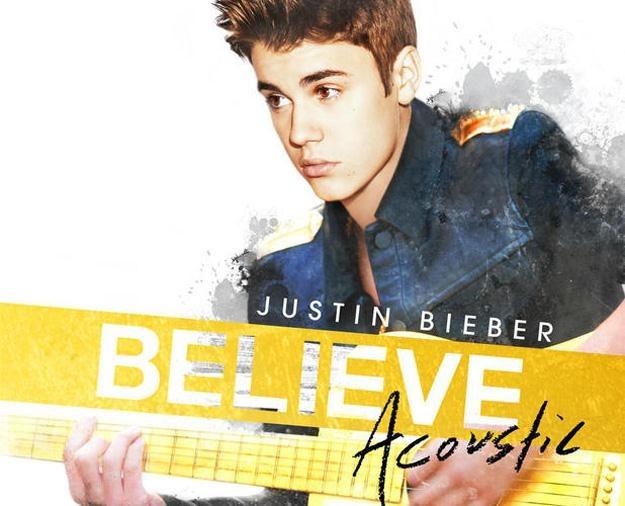 """Justin Bieber na okładce albumu """"Believe Acoustic"""" /"""