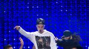 Justin Bieber pijany na scenie w Nowej Zelandii