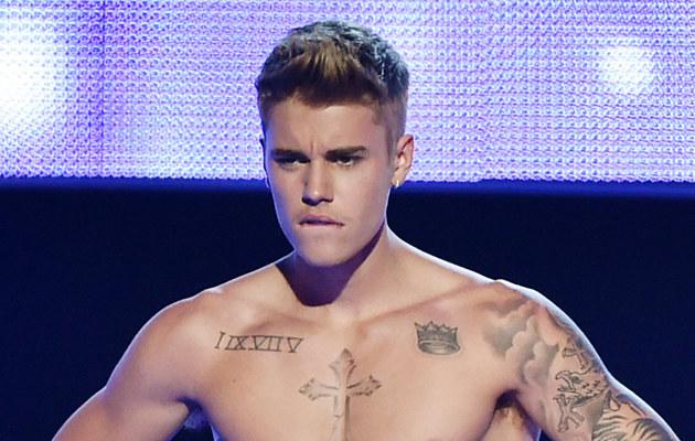 Justin Bieber pochwalił się swoją pupą! /Theo Wargo /Getty Images