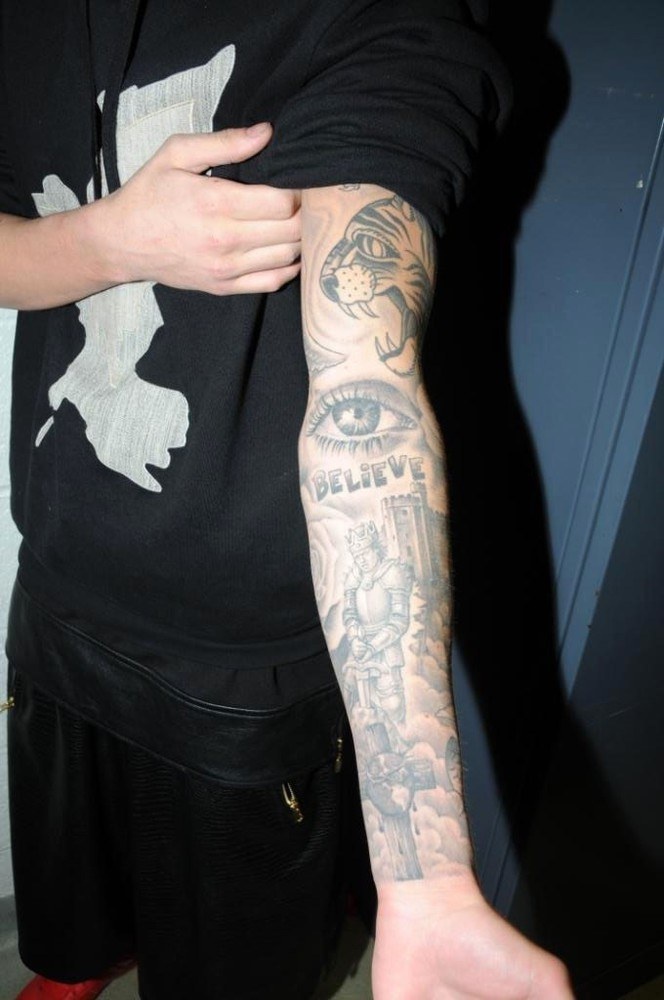 Justin Bieber Pokazał Wszystkie Tatuaże I Brud Pod