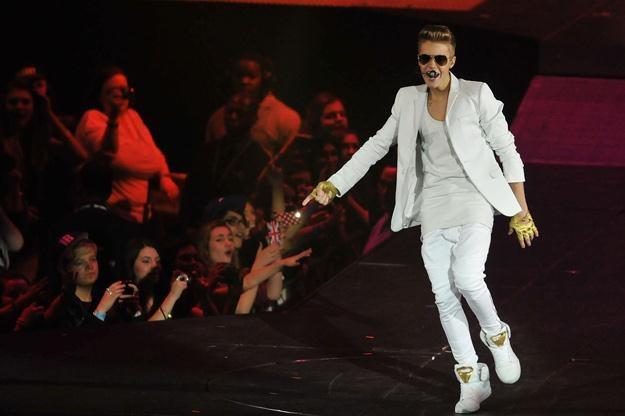 Justin Bieber wszędzie, gdzie się pojawia, wywołuje prawdziwe szaleństwo - fot. Jim Dyson /Getty Images/Flash Press Media
