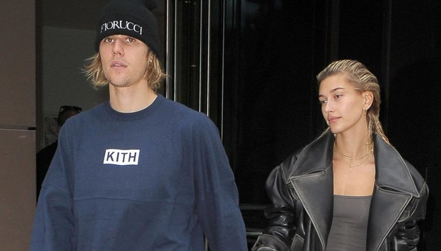 Justin Bieber z żoną /UMV/starmaxinc.com /PAP/EPA