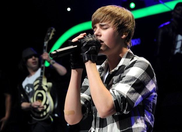 Justin Bieber został królem YouTube - fot. Bryan Bedder /Getty Images/Flash Press Media