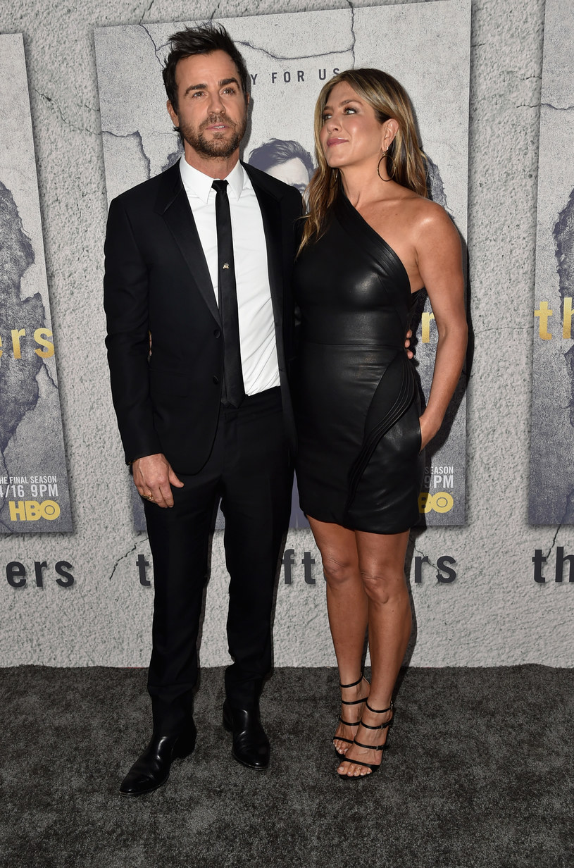 Justin Theroux i Jennifer Aniston niedawno ogłosili, że się rozwodzą /Alberto E. Rodriguez /Getty Images