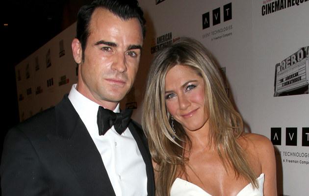 Justin Theroux i Jennifer Aniston ponoć spodziewają się bliźniaków! /Frederick M. Brown /Getty Images