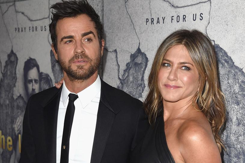 Justin Theroux i Jennifer Aniston są małżeństwem od sierpnia 2015 roku /Getty Images