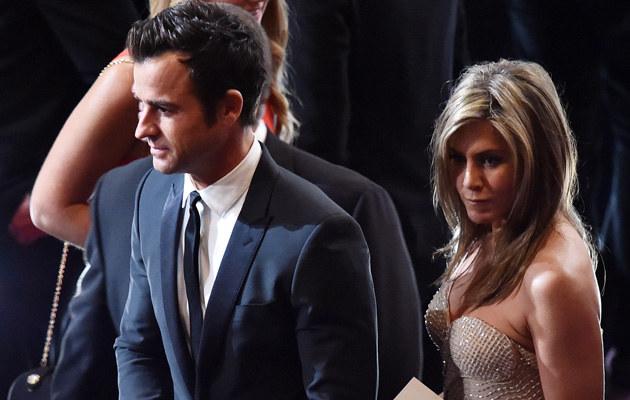 Justin Theroux i Jennifer Aniston zerwali zaręczyny?! /Kevin Winter /Getty Images
