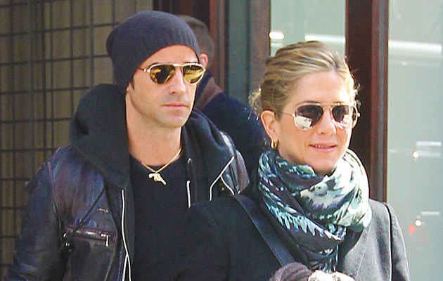 Justin Theroux, Jennifer Aniston /Splashnews