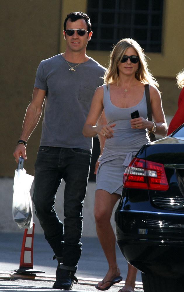 Justin Theroux, Jennifer Aniston /Splashnews