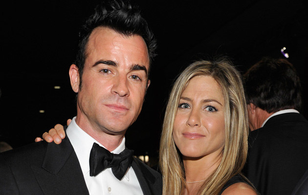 Justin Theroux, Jennifer Aniston /Getty Images