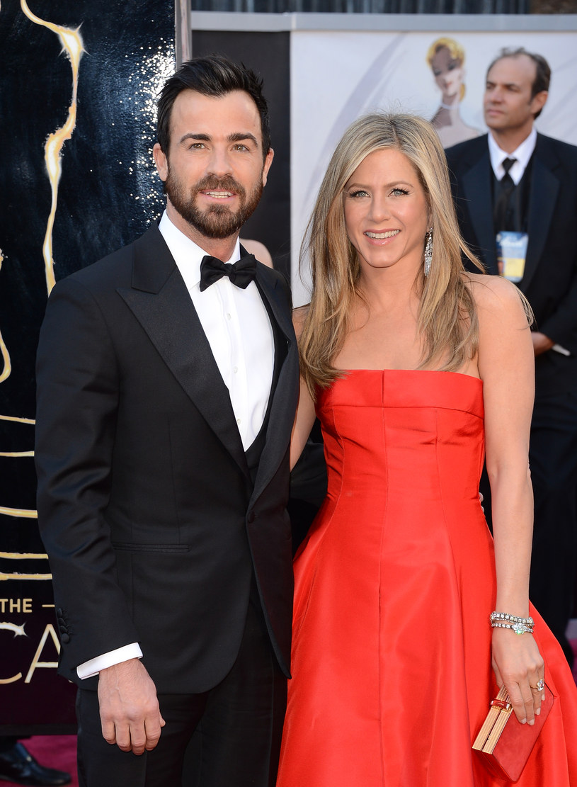 Justin Theroux, Jennifer Aniston /Jason Merritt /Getty Images