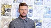 Justin Timberlake dotknięty w szyję na polu golfowym
