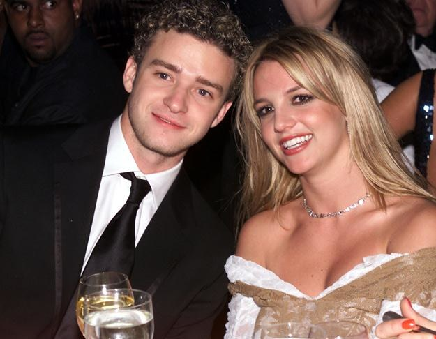 Justin Timberlake i Britney Spears w 2002 roku - fot. Frank Micelotta /Getty Images/Flash Press Media