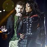 "Justin Timberlake i Janet Jackson - autorzy ""afery sutkowej"" /AFP"