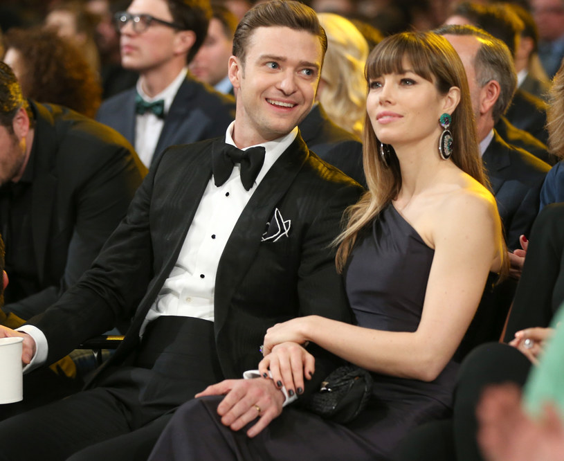 Justin Timberlake i Jessica Biel /Christopher Polk /Getty Images