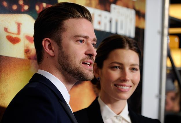 Justin Timberlake i władcza żona Jessica Biel fot. David Becker /Getty Images/Flash Press Media