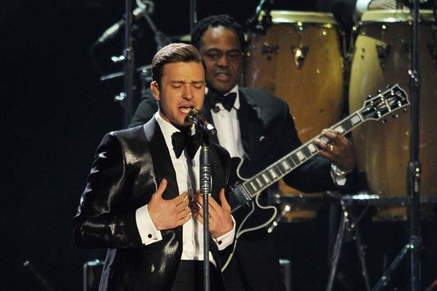 Justin Timberlake w końcu wrócił do śpiewania - fot. Matt Kent /Getty Images/Flash Press Media