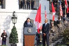 Justin Trudeau odwiedza Waszyngton