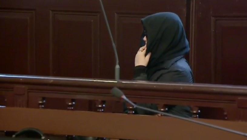 Justyna G. w sądzie /TVN24