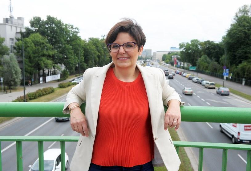 Justyna Glusman, kandydatka ruchów miejskich /Jan Bielecki /East News